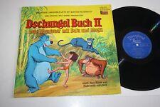 """DSCHUNGEL BUCH 2 neue Abenteuer mit Balu und Mogly Vinyl NM- 12"""" LP Walt Disney"""
