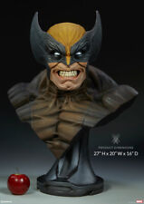 Sideshow Marvel Comics X-Men The Wolverine Life Size Bust Statue MISB In Stock
