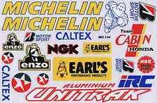 N-556 Sponsoren Sponsors Aufkleber Sticker 1 Bogen 27 x 18 cm Racing Tuning