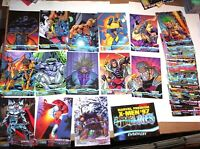 1997 X-MEN TIMELINES COMPLETE BASE 82 CARD SET! WOLVERINE DARK PHOENIX + INSERT!