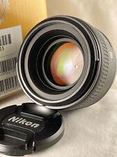 Nikon AF-S FX NIKKOR 50mm F/1.4G F Mount Lens in Excellent Condition US