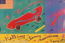 Rolling Stones 1981 Original US Horizontal Tour Promo Poster