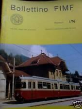 Bollettino FIMF treni 1991 179 Ferrovia Stubaitalbahn