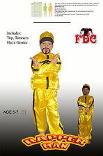 Ali G Rapper Child Fancy Dress Costume By Celebration Central Age 5/7yrs
