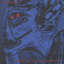 Grief Can Kill an Elephant by Deejer (CD 2005) OOP! OUT OF PRINT! RARE!