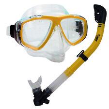 Scuba Dive Snorkeling Purge Mask Dry Snorkel Gear Set