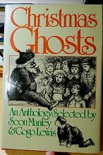 Christmas Ghosts 1978 HC DJ Review Copy 1ST EDITION Manley & Lewis