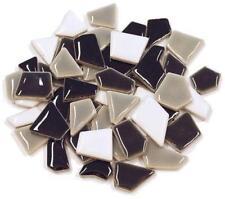 Flip céramique Mini tuiles de Mosaïque - gris mélange 100g