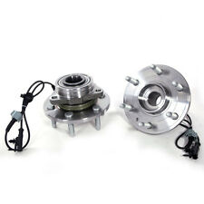 2x Front Wheel Hubs & Bearings Left & Right Pair Set for Chevy GMC Cadillac 4WD