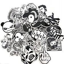60pcs Stickers Vinyl Skateboard Guitar Travel Case Sticker Pack Decals Cool