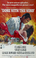 #4462 Gone with the wind Clark Gable 24X36 Poster