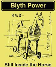 Blyth Power 'Plan B' T-Shirt Yellow Ladies
