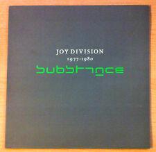 """JOY DIVISION """" Substance """"- Vinyl Lp Compilation - N.Medios 33 321 L -1988 Spain"""