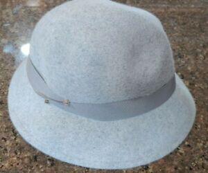 Women's Felt Cloche Hat - Gray - A New Day