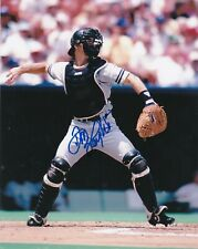 DON SLAUGHT   NEW YORK YANKEES  ACTION SIGNED 8x10