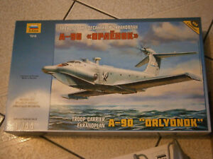 MAQUETTE AVION A REACTION TROOP CARRIER A-90 ORLYONOK ZVEZDA 1/144 (ref:7016)