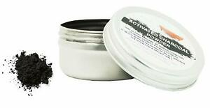 Activated Charcoal Powder,100% Natural For Teeth Whitening, 1 Tin of  25g