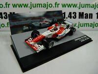 SEN22T eaglemoss 1/43 F1 BRESIL Formule 1 TOYOTA TF104B R.Zonta Brésil 2004