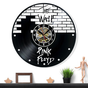Pink Floyd Vinyl Record Wall Clock Gift Surprise Ideas Friends Decor Wall Art