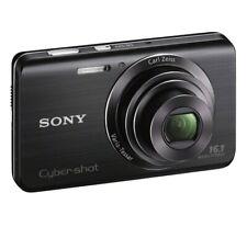 Sony Cyber-shot DSC-W650 16.1MP Digital Camera - Black