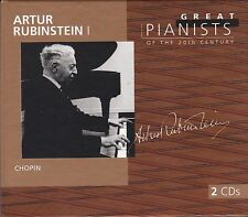 ARTUR RUBINSTEIN I Great Pianists of the 20th Century 2 CDs