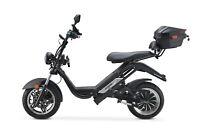 E-scooter CITY COCO Bike Fat-Escooter mit Straßenzulassung 90km Reichweite 45kmh