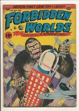 Forbidden Worlds #6 (May-June 1952, ACG) Williamson Harrison Art