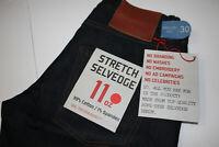 BNWT The Unbranded Brand UB322 11 oz  Selvedge Denim Jeans size 30x32