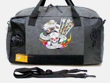 ED HARDY 'DEATH OR GLORY'  holdall / duffle / weekend bag FOR MEN * New