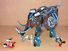 Lego Chima 70145 Maula's Ice Mammoth Stomper 100% complete set with minifigs