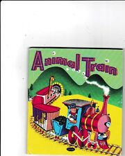 ANIMAL TRAIN--ELIZABETH ROBERTS--BEN D. WILLIAMS---hc--1952---Whitman Publishing