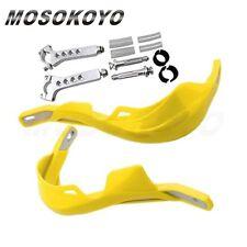 "Motorcycle Supermoto Dirtbike 7/8"" 1-1/8"" Fat Bar Brush Hand Guards Universal"