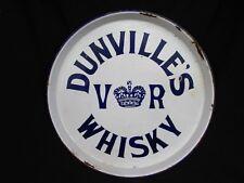 DUNVILLE'S VR WHISKY TRAY *PORCELAIN* !ANTIQUE!