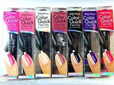 SALLY HANSEN COLOR QUICK FAST DRY NAIL PEN  *YOU CHOOSE THE COLOR*