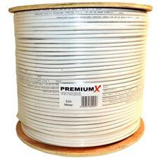 500m Sat Koaxialkabel Antennenkabel 135dB Digital FullHD 3D UHD 4K 8K 130 Kabel