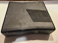 Microsoft Xbox 360 S Slim Matte Black Console Only FOR PARTS or REPAIR