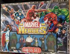 Marvel Heroes Chess Set Avengers Captain America Hulk Thor Spider-Man X-Men