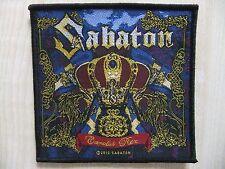 Aufnäher - Patch - Sabaton - Carolus Rex - Powerwolf - Civil War - Battle Beast