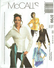 McCall's 3799 ~ MISSES SHIRTS / BLOUSES - SIZES 12, 14, 16, 18