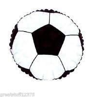 """Balloon 18"""" SOCCER BALL Mylar Foil Sports Balloon Party Decorations Gifts"""