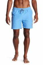 d109fa91f6cd6 Psycho Bunny Contrast Stitch Solid Swim Trunks Men's Sz. XL (Marina) 147378