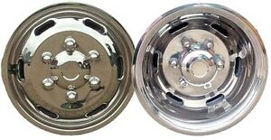 """16"""" Deep Dish Iveco Daily 170mm PCD wheel trims liners hub caps covers"""