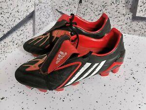 adidas Predator Powerswerve FG 019991 Mania black red rare 2008 pulse US 9