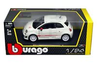 BURAGO 1/24 ☆ FIAT 500 ABARTH esseesse ☆NEW PERFECT NEVER REMOVED MISB RARISSIMA