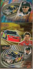 JEFF GORDON UD 00 NASCAR 3 CHASE CARD LOT THUNDER #TR5 GROOVE #HG6 WINNING #WF6
