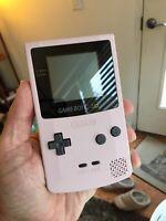Sakura Pink Nintendo Gameboy Color GBC Disney Racing Cartridge Refurbished NES