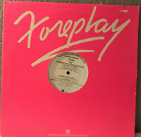 "Nov 1980 FOREPLAY A&M Compilation Promo (With Book) - 12"" Vinyl Record LP - EX"
