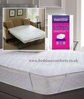 SOFA BED / PULL OUT BED Slumberdown Big Hugs MATTRESS PROTECTOR (140cm x 190cm)