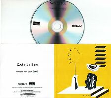CATE LE BON Love Is Not Love 2016 UK 1-trk promo test CD
