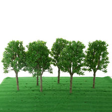 6Pcs 1:30 Model Trees Scenery Fake Tree for Crafts Park Scenery Layout